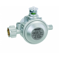 Газовий двух камерний регулятор низького тиску GOK EN61-DS 1,5 кг/год 50 мбар KLFxG1/4LH-KN