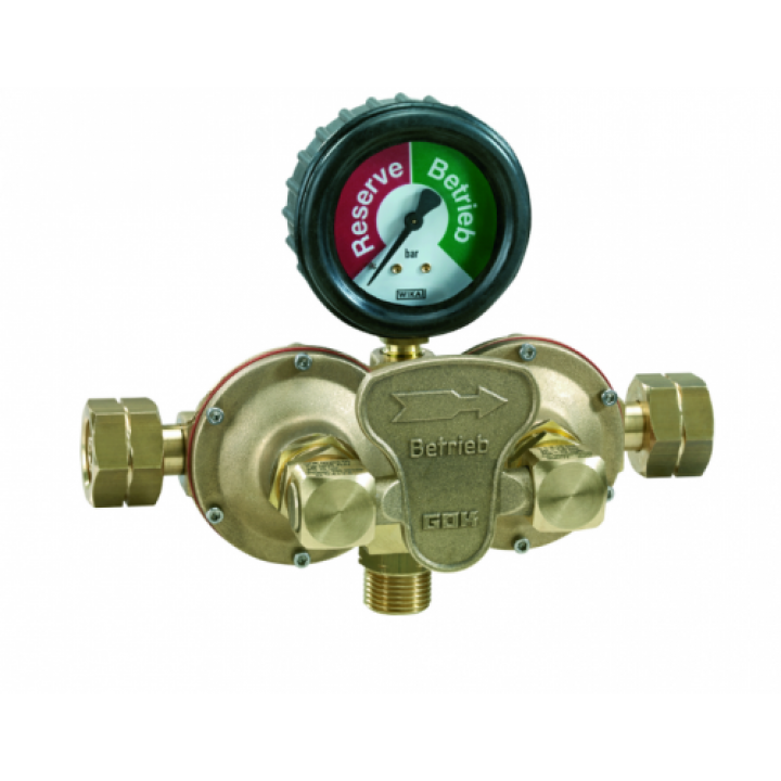 Автоматичний переключаючий клапан GOK AUV 12 кг/год  1,5 бар PS GFxAG GFxGF (1,8/0,75 бар) СНД