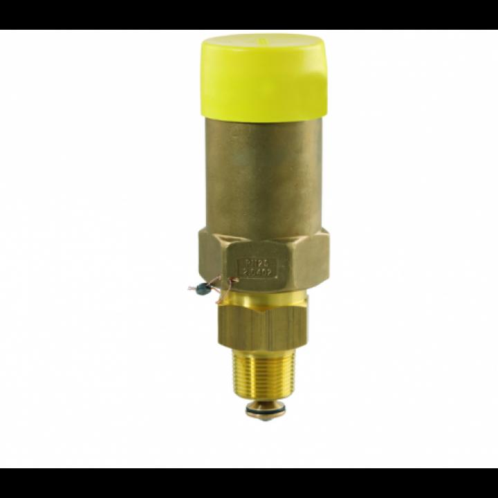 Змінний запобіжний клапан зовнішнього разташування для газгольдерів AG 1 NPT тиск скидання 15,6 бар
