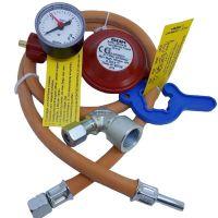 Комплект до газової плити GOK 1,5 кг/год 50мбар KLF MD G1/4 LH UEMxRST8x1000