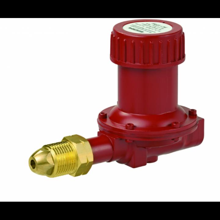 Регулятор ємності 1- ступені газу для підключення до газгольдера POL IG G 3/8  1,5 бар 24 кг/год