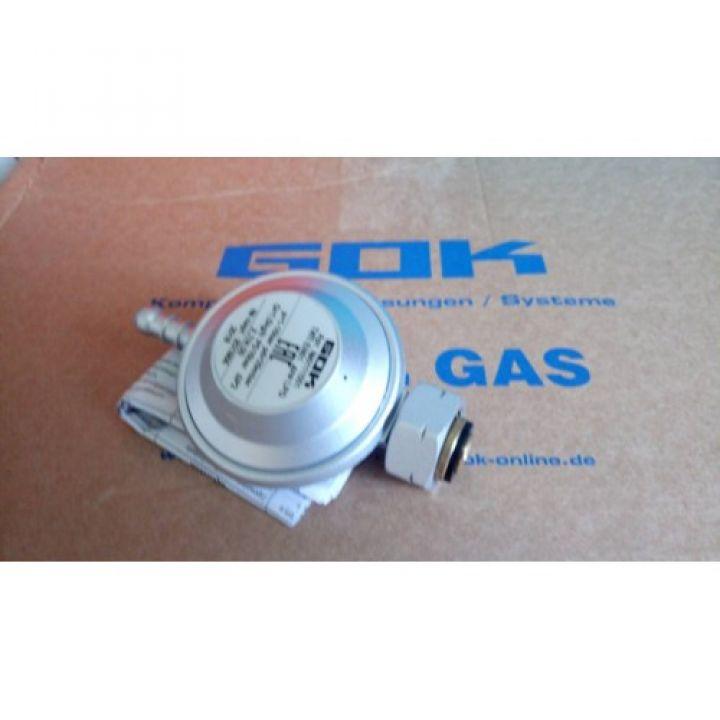 Газовий регулятор GOK EN61 1,5кг/год 29 (30) мбар штуцер виходу 8 - 9мм СНД, Shell