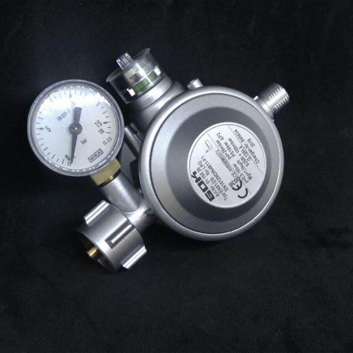 Газовий двухкамерний регулятор низького тиску GOK EN61-DS 1.5 кг/час 29 (30) мбар KLF*G1/4LH-KN