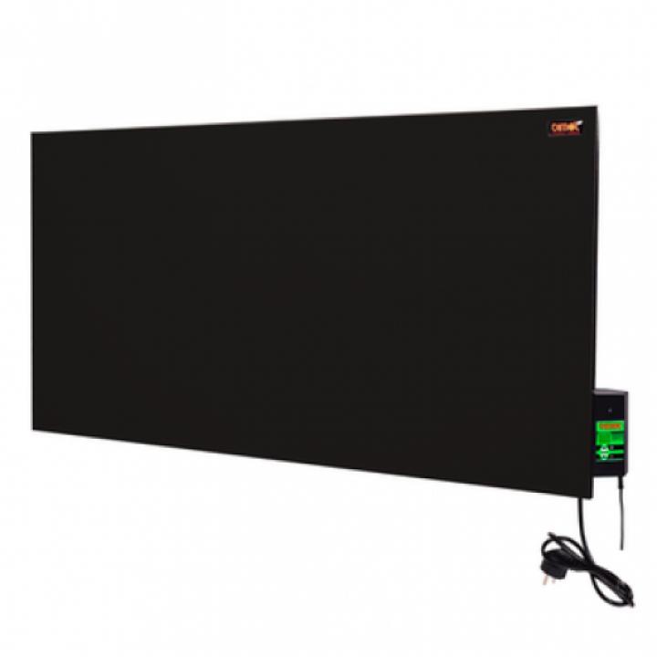 Склокерамічна панель ТМ DIMOL Maxi 05, чорна / з терморегулятором