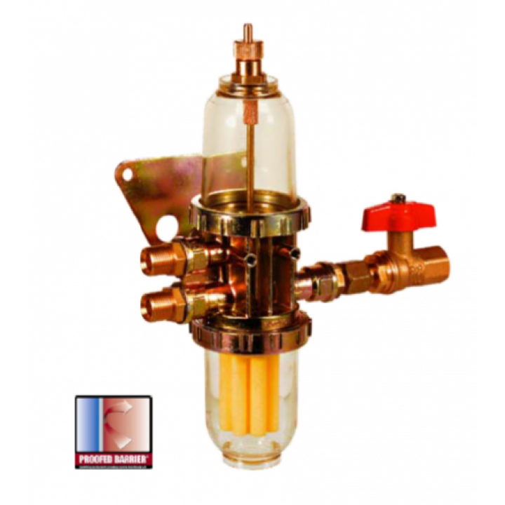 Комбінація фільтру рідкого пального - деаератора GS2000