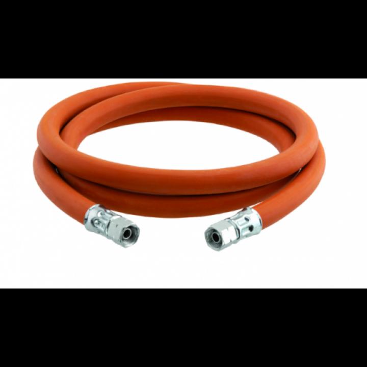 Шланг газовий для під'єднання обладнання (Газовой пушки) 3/8L - 3/8L, 2м