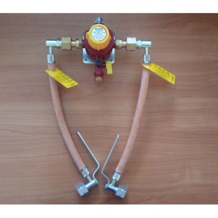 Газобалонка GOK на 2 балона, 4 кг/год 37 мбар (автоматична)