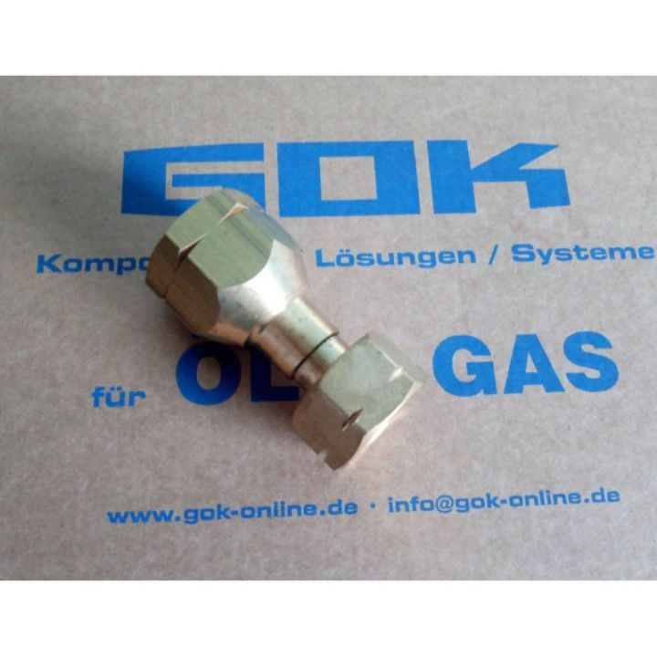 Перехідник GOK Shell (W21,8x1/14LH UEM) на IG POL