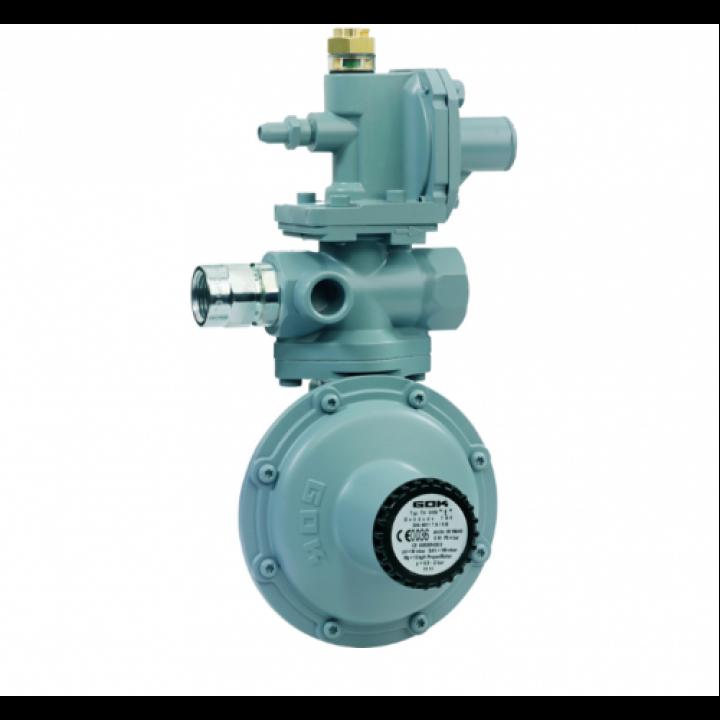 Регулятор ємності 2- ступені для внутрінього монтажу з ПСК та ПЗК IG G 3/4 - IG G 3/4  37 мбар 24 кг/год