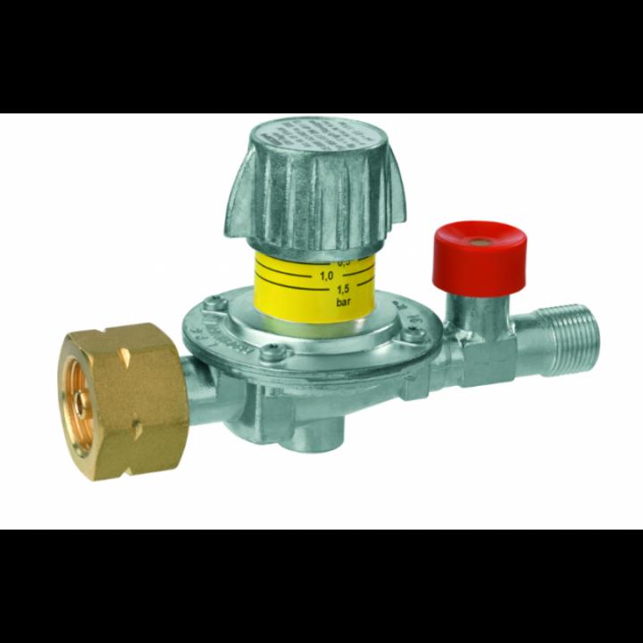 Регулятор середнього тиску газу GOK M50-V/SBS 12 кг/год 0,5-1,5 бар Komb.AxG3/8LH-KN SBS шкала