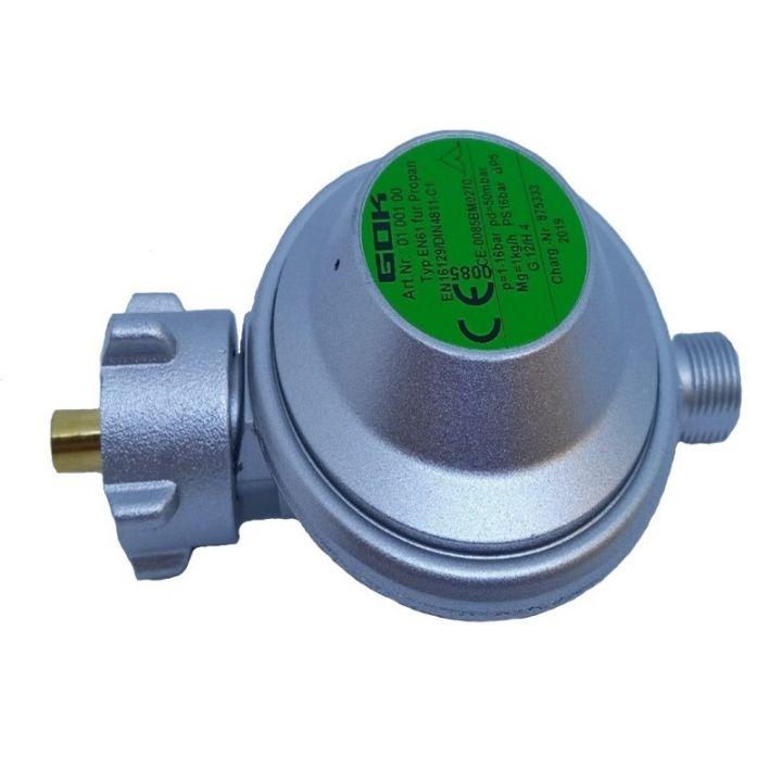 Газовий регулятор низького тиску GOK EN61 1 кг/год 50 мбар G1/4LH-KN KLF