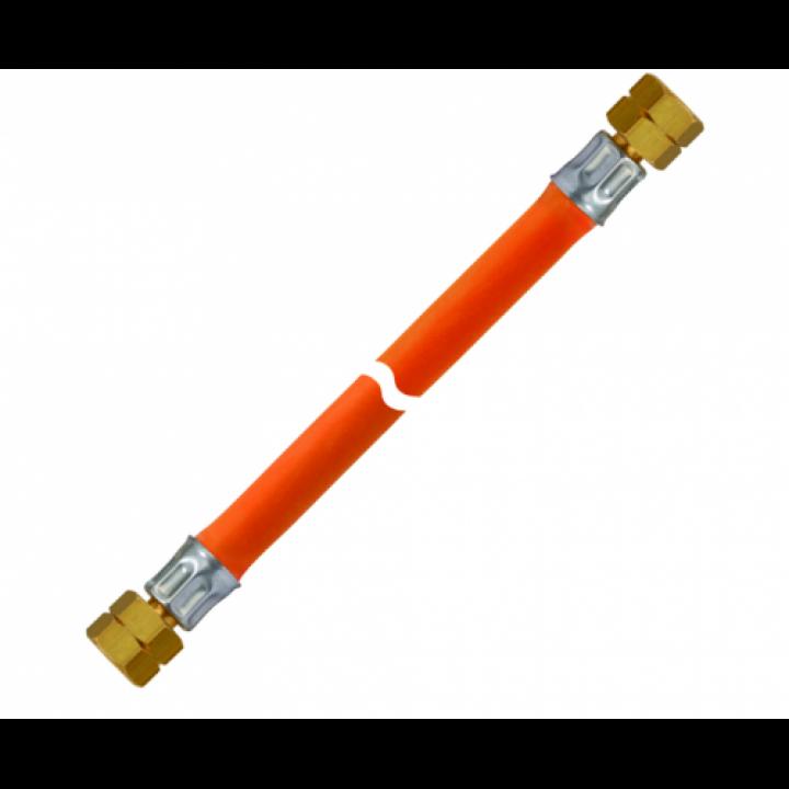 Шланг газовий комплектуючий морозостійкий 1/4 ліва - 1/4 ліва довжина 1000мм