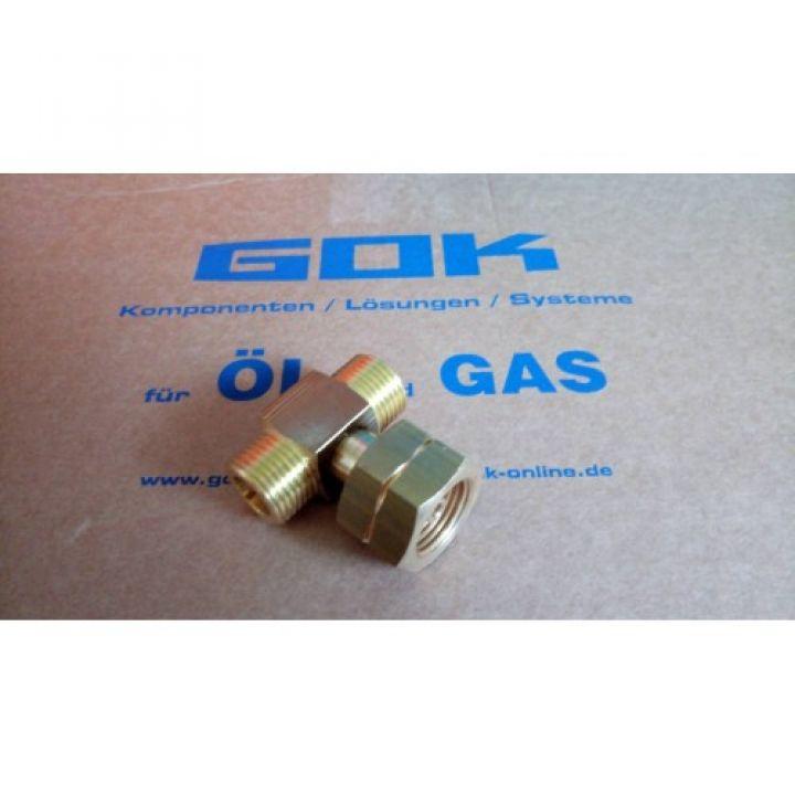 З'єднувач-трійник для газобалонної установки AG GFxKomb.AxAG GF