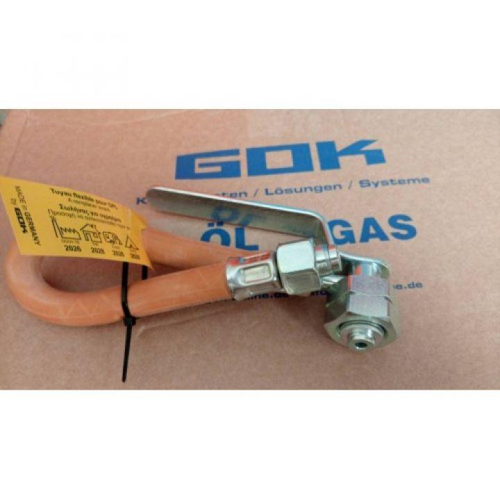 Шланг Газ GFxRST12x300 ML + DL H-ручка, Тип PS30
