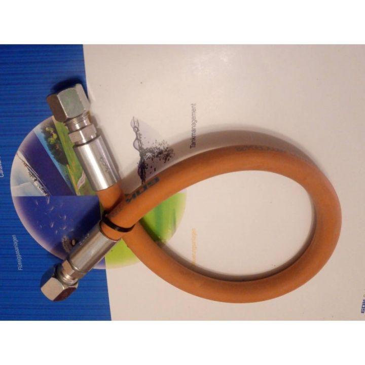 Шланг газовий комплектуючий морозостійкий -30 RVS8 * RVS8 600 мм