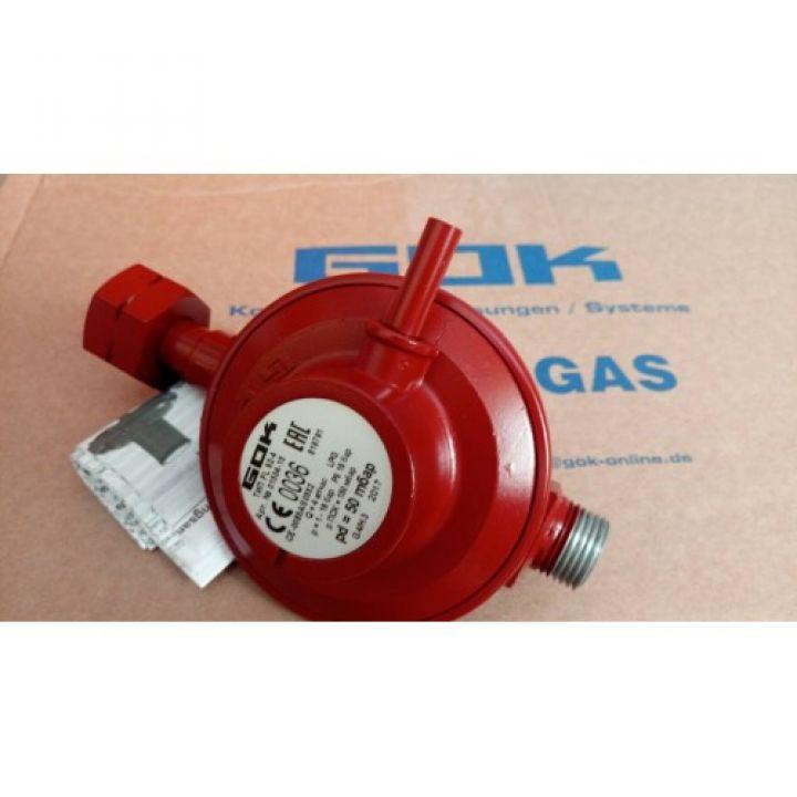 Регулятор тиску для газобалонних установок gok FL-92-4, 4 кг/год 50 мбар PS 16bar