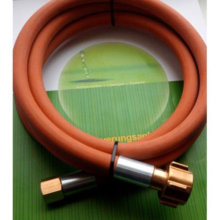 Газовий рукав для заправки композитних балонів довжина 2 м KLF*G1/4 права