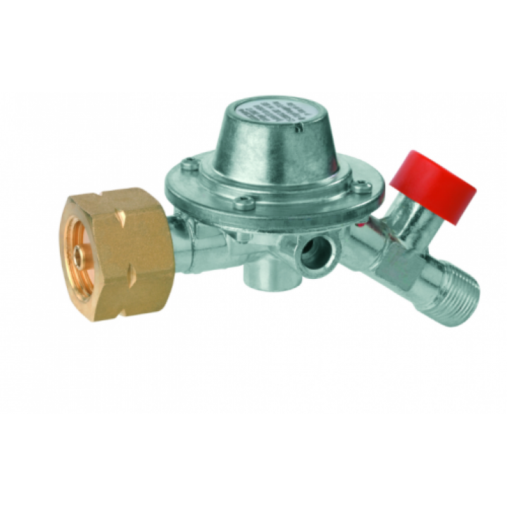 Регулятор середнього тиску газу GOK M50-F/SBS 12 кг/год,1,5бар Komb.A x G3/8LH-KN-35°