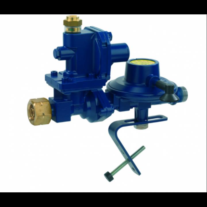 Регулятор низького тиску GOK FL92 4,0 кг/год 50 мбар з ПЗК та ПСК Комбі.А * G 1/2 LH-KN