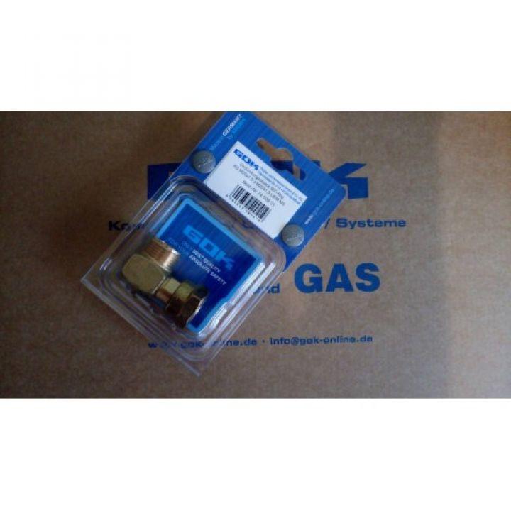 З'єднувальний елемент GOK 90°-відвод AG M20x1,5xM20x1,5 UEM MS