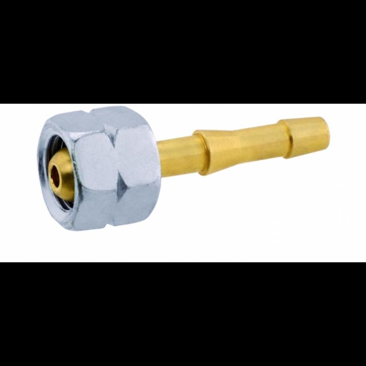 Конектор з накидною гайкою GOK G 1/4 LH 6mm