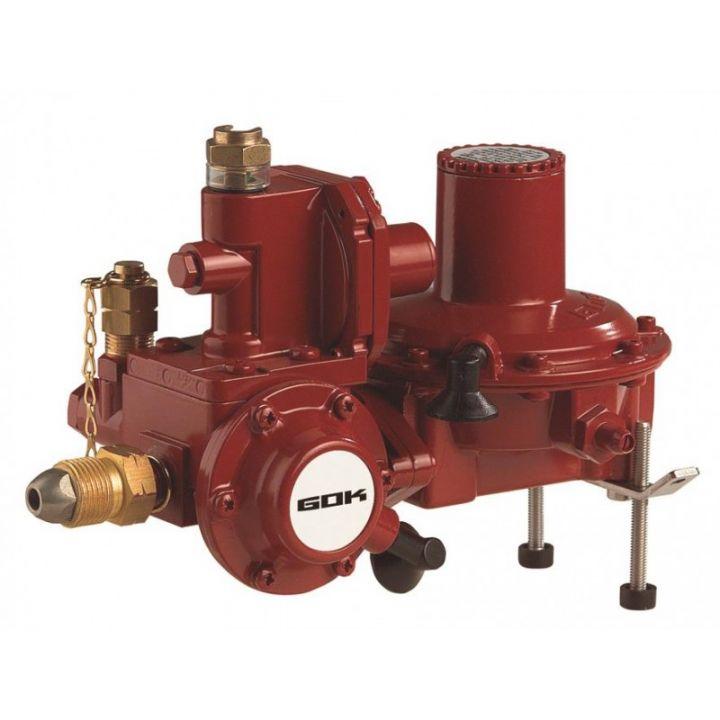Регулятор кобінований ємності газу для прямого підключення до газгольдера  з ПСК без ПЗК POL IG G 3/4 50 мбар 20 кг/год