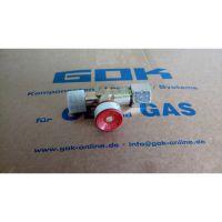 Запобіжний пристрій при прориві шлангу GOK 1.5 бар  6кг/год G3/8LH UEM*G3/8LN-KN ручн.