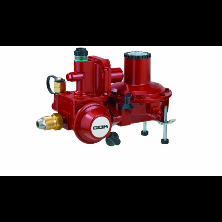 Регулятор кобінований эмності газу для прямого підключення до газгольдера з ПСК та ПЗК POL IG G 3/4 37 мбар 12 кг/год