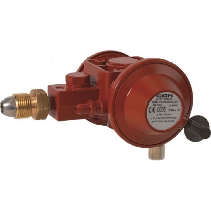 Регулятор Ємності газу для прямого підключення до газгольдера POL IG G 1/2 50 мбар 6 кг/год