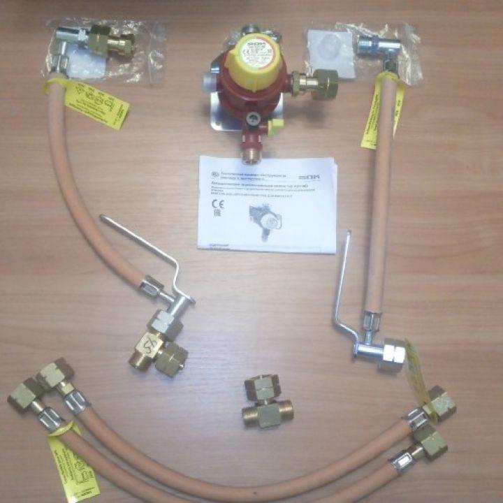Газобалонка GOK на 4 балона, 4 кг/год 37 мбар (автоматична)